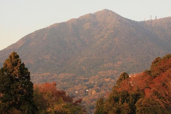 紅葉の筑波山
