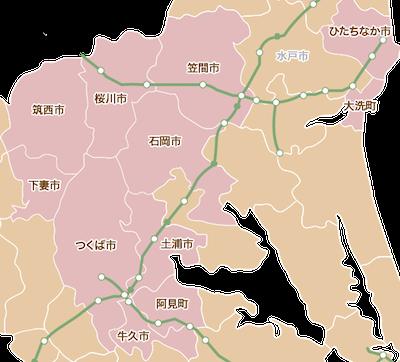 筑波山京成ホテル観光紹介マップ