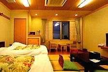 禁煙バリアフリーA 山側の落ち着いた快適な和室です